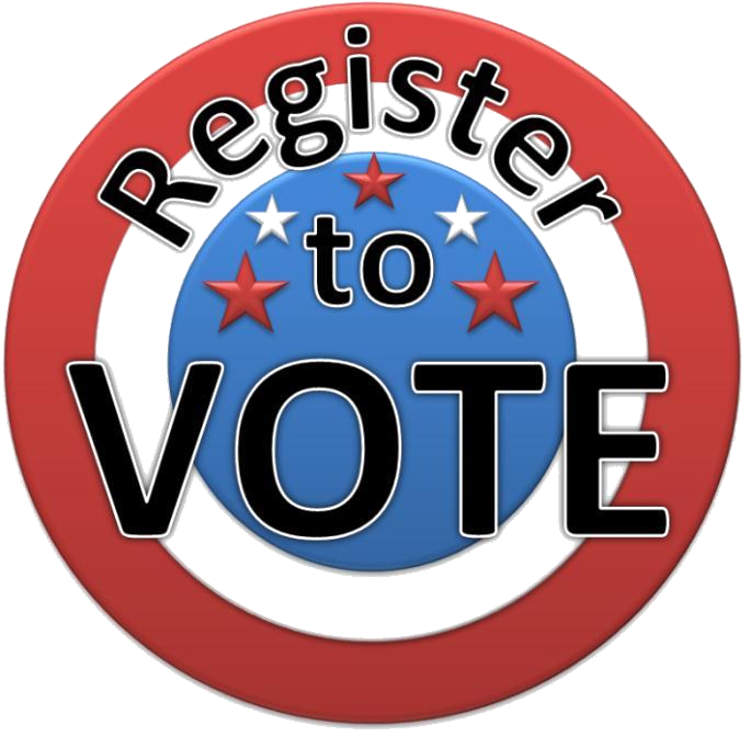 Register to Vote Target and link Button