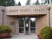Trinity County Library Entrance