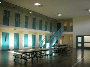 Juvenile Hall interior