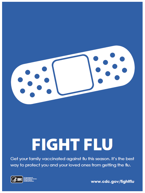 Fight Flu campaign banner
