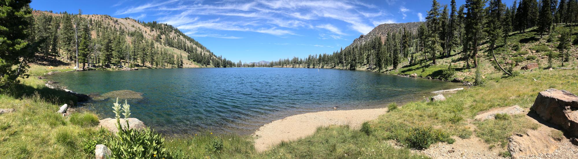 Deadfall Lake in Trinity Alps Wilderness